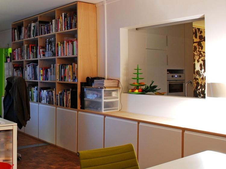 agence (vue sur cuisine logement)