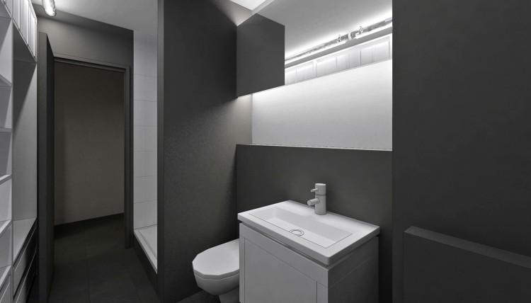 salle de bains et dressing