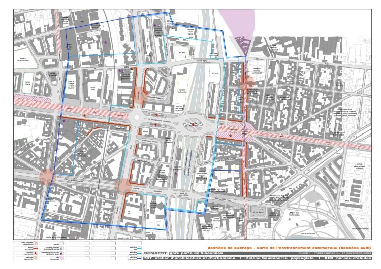 données de cadrage: carte de l'environnement commercial (données audi)