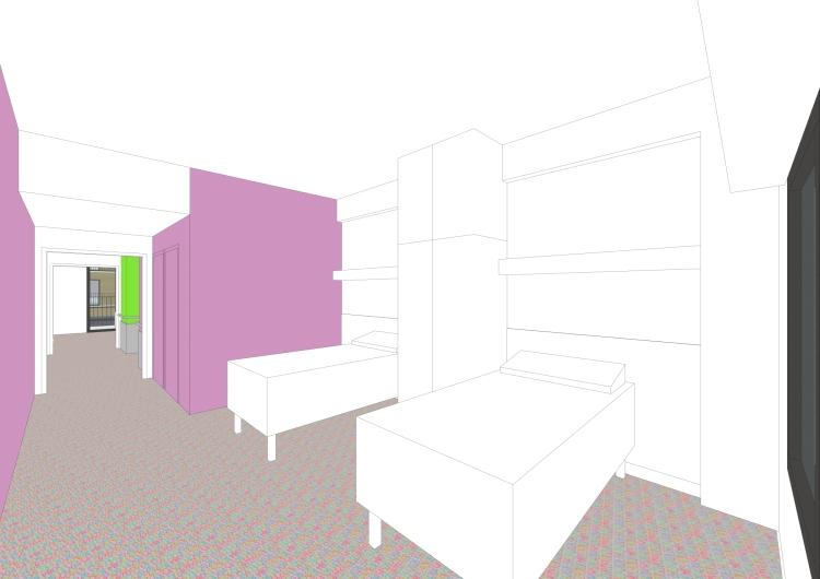 chambre / secteur soins de suite ou réadaptation