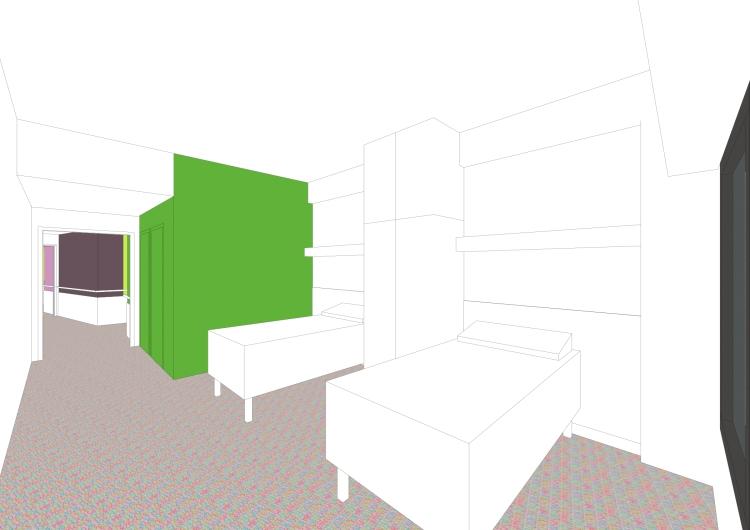 chambre / secteur réadaptation